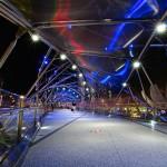 マリーナ ベイ サンズ橋の内側