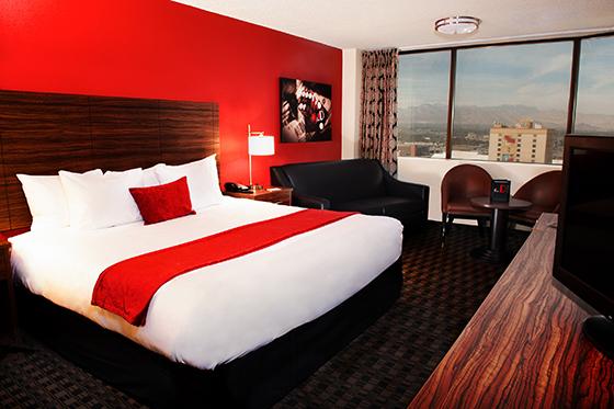 The D Casino Hotel居室