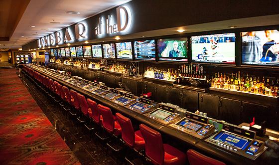 The D Casino Hotelカジノバー