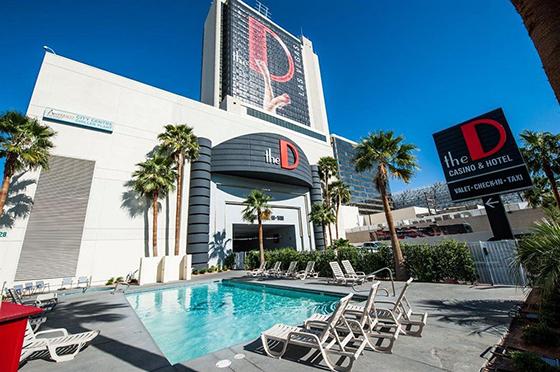 The D Casino Hotelプール