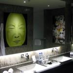 Hard Rock Hotel Bathroom art