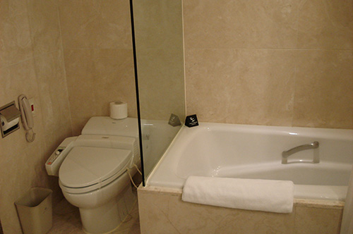 パラダイス ホテル&カジノ 浴室
