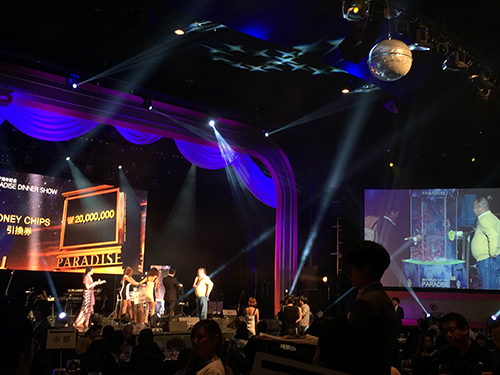 パラダイスカジノ ウォーカーヒル 創立47周年記念ディナーショー 抽選