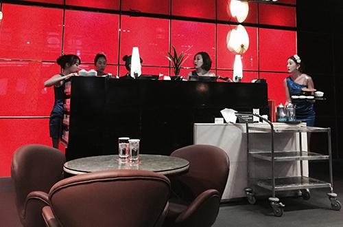 パラダイスカジノ ウォーカーヒル バーコーナー