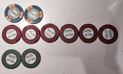 パラダイスカジノ ウォーカーヒル チップ
