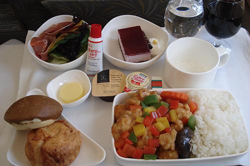 アシアナ航空 機内食 2015年2月21日