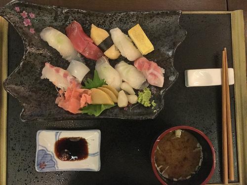パラダイスカジノ仁川・バーコーナーにぎり寿司