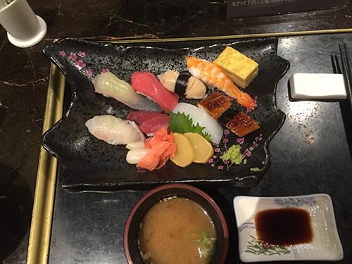 パラダイスカジノ仁川 握り寿司